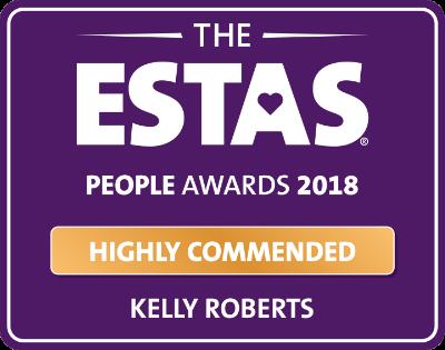 ESTAS People Awards 2018 Highly Commended award logo