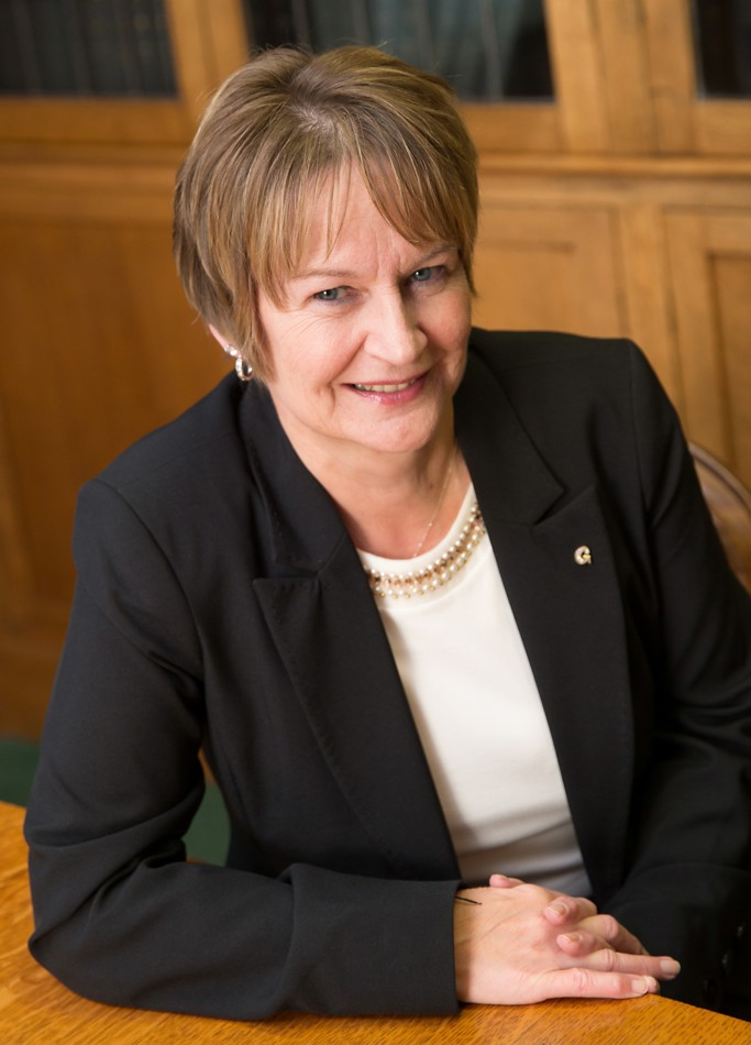 A photograph of Gail Tanner